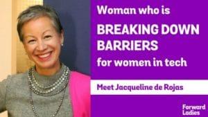 Meet The Woman Who Is Breaking Down Barriers For Women In Tech