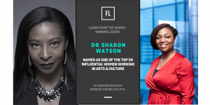 In Conversation With Dr Sharon Watson, Top 50 Influential Women In Culture