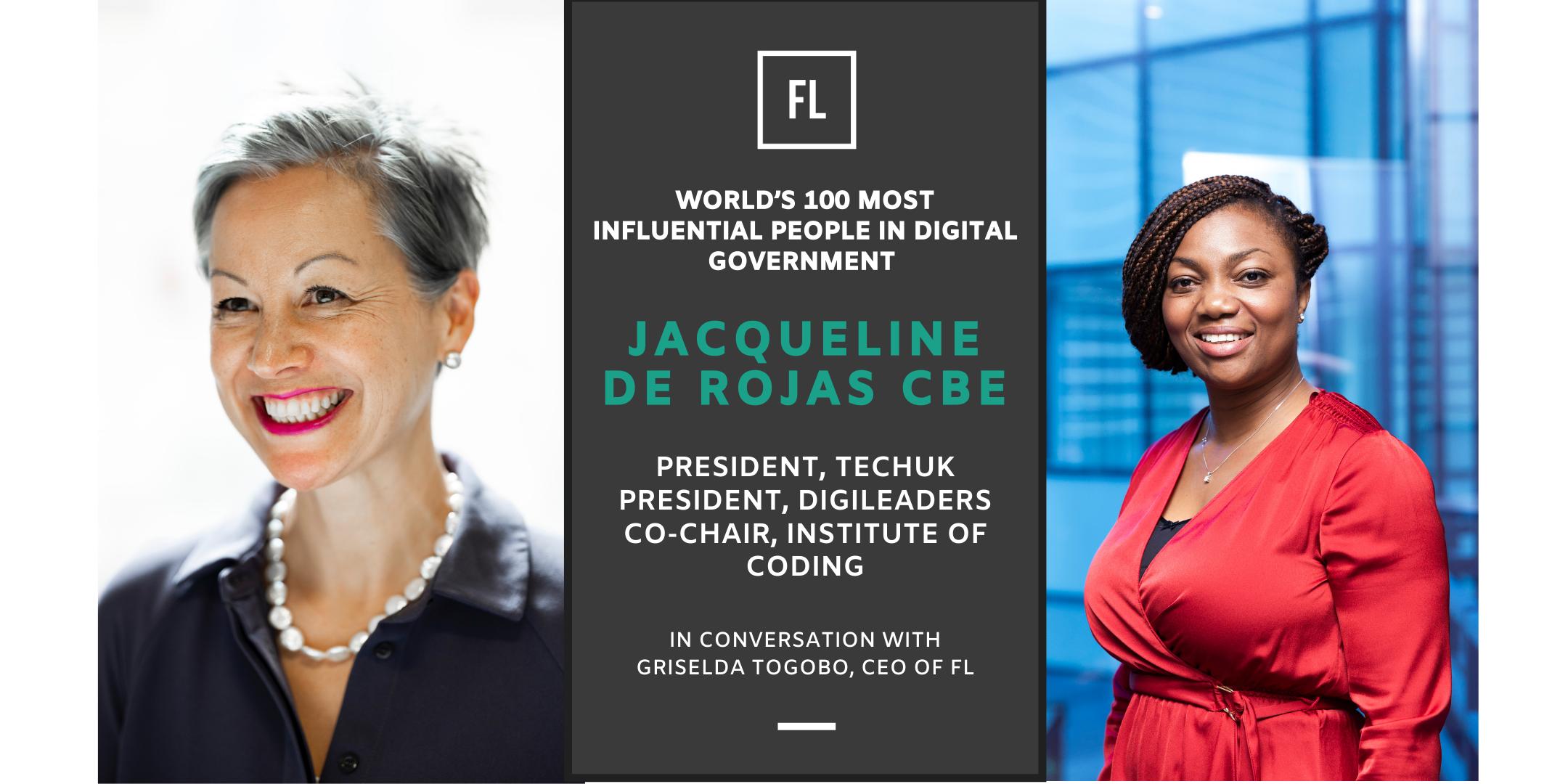 In Conversation With Jacqueline de Rojas CBE, President TechUK