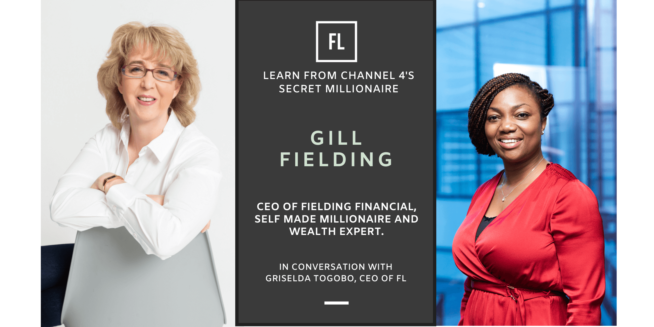 In Conversation with Gill Fielding, Self-Made Millionaire & Wealth Expert